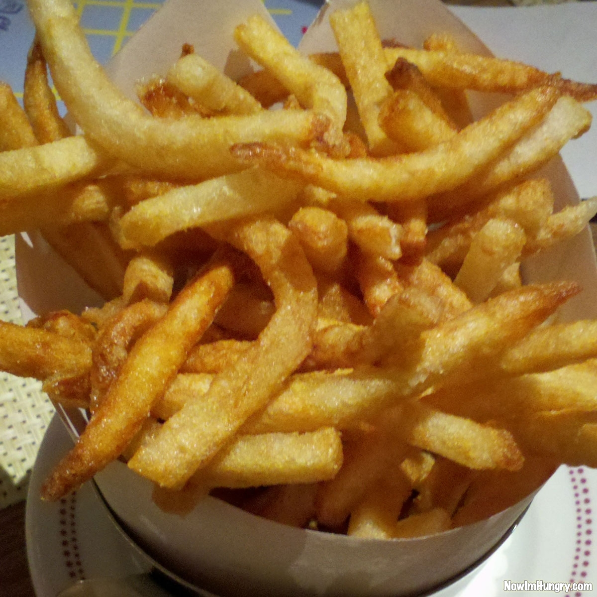 Belgian Fries at Bar Boulud | Now I'm Hungry | Restaurant Reviews And ...