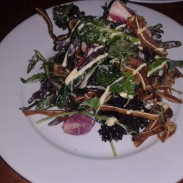 Crispy Pig's Ear Salad at The Pikey, Hollywood