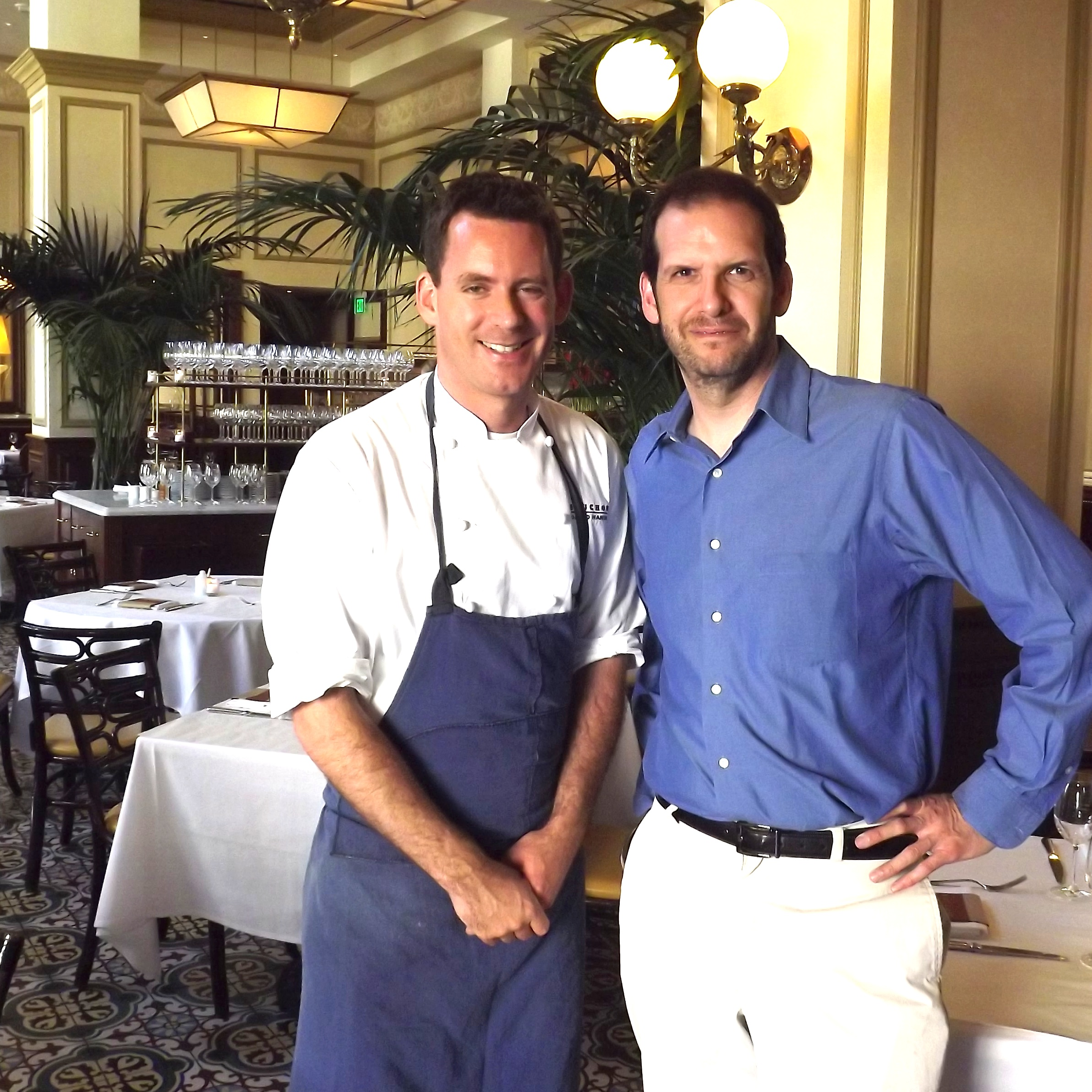 With Executive Chef David Hands at Bouchon Beverly Hills