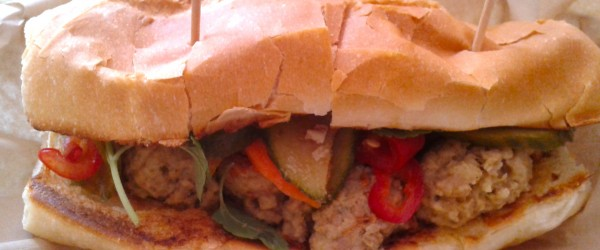 Saigon Duck Curry Meatball Sandwich at D'elish